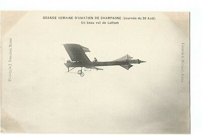 Grande Semaine D' Aviation De Champagne , Avion Latham