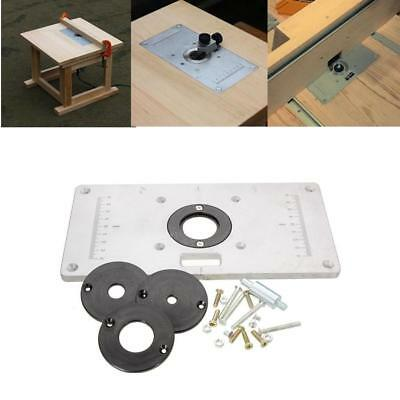 Trend router table 28000 picclick uk aluminum router woodworking table insert plate 2351208mm greentooth Gallery