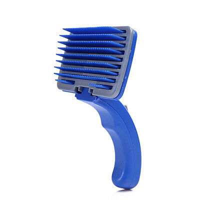 Pet Dog Brush Small Shedding Cleaning Durable Plastic Grooming Brush for Dogs