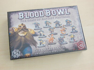 Blood Bowl The Dwarf Giants Team 12 Figuren *Neu* Zwerge
