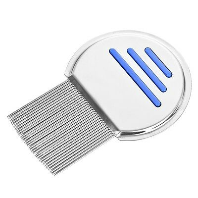 Lice Nit Comb Get Down To Nitty Gritty Stainless Steel Metal Head And Teeth UK..