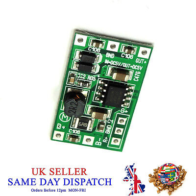 5V DC UPS Step up Module Charger Battery Protection Board 1.0V Li-ion LiPo