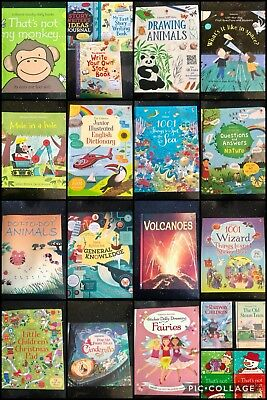 New Usborne 22 Book Bundle