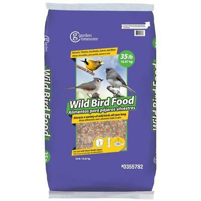 Garden Treasures Wild 35-lb Wild Bird Seed New