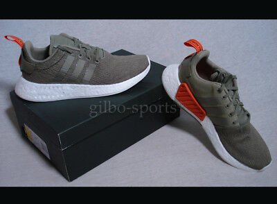 ADIDAS Originals nmdr2 Olive Green White tg. 40 2/3 42 2/3 43 1/3 44 NUOVO bb6846