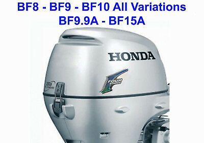honda outboard bf50 bf5a service workshop and repair manual