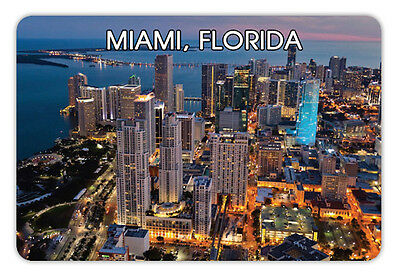 "Florida MIAMI Travel Souvenir Photo Fridge Magnet 3.5""X2.4"""
