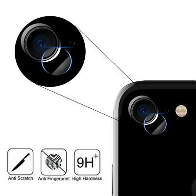 For Apple iPhone 8 Tempered Glass Back Rear Camera Lens Protector Cover Clear