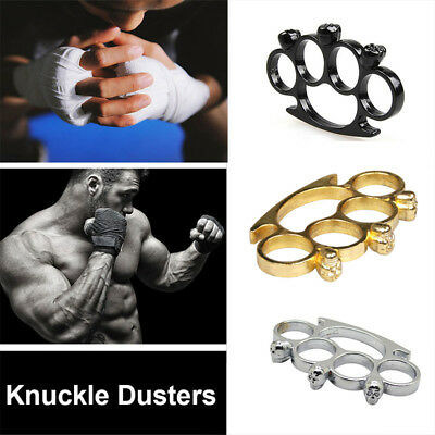 Alloy Single Finger Buckle Punch Brass Knuckles Iron Lotus Practical