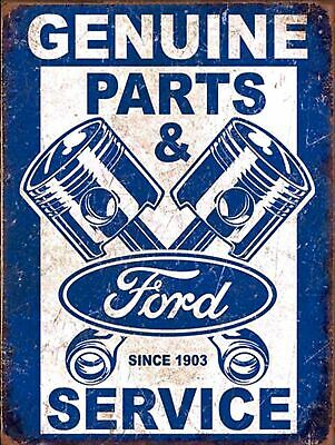 Genuine Ford Retro metal Aluminium Sign vintage / man cave / garage / Shed Gift