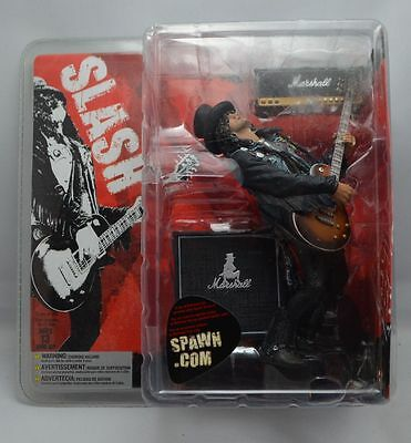 Guns n Roses SLASH 7in Action Figure McFarlane Toys Rare