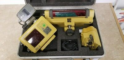 Topcon RD-2 LS-B2 IR-2 Grading System (NEEDS POWER CABLE- SOME COSMETIC DAMAGE)