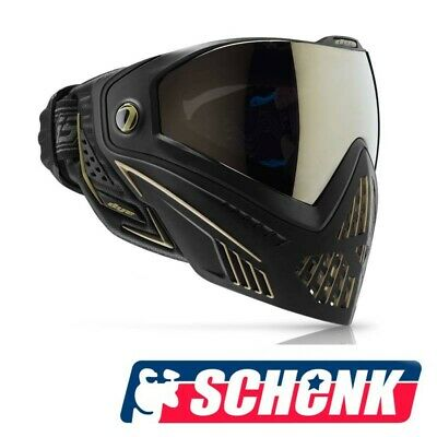 Paintball Thermal Maske   VForce Grill SF  Blau Rot  Sonderangebot