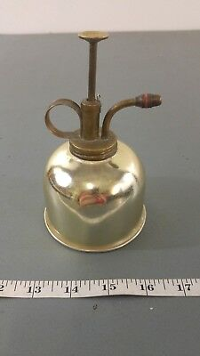 Vintage Oil Can Brass? Look Small Pump Nozzle Shiny