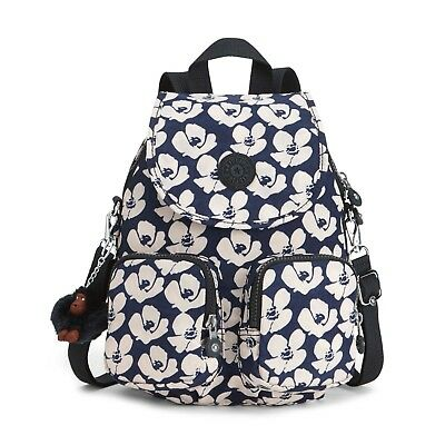 1d5a2f501c Kipling Firefly UP Small Backpack Shoulder Bag BOLD FLOWER Print RRP £84
