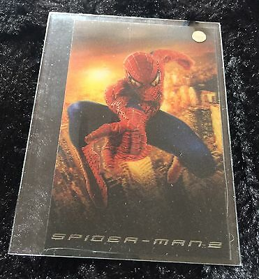 Topps Marvel Comics Spider-Man 2 Movie Cards Complete Set Plus All Chase + Extra