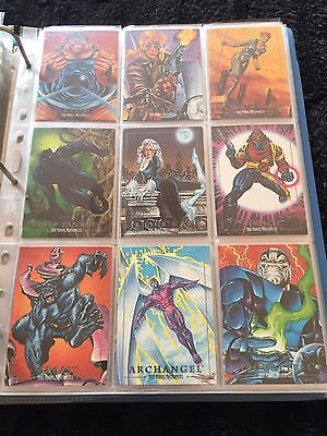 1992 Marvel Comic Masterpiece Complete Master Set Promo/lost/signed/chase Cards
