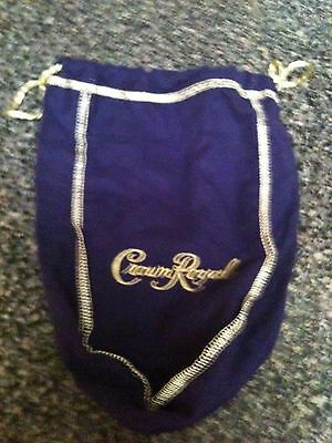 Crown Royal Bag - Purple and Gold Lot of 2 bags