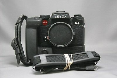 Leica R4 Camera with Motor Winder and Hand grip