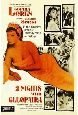 2 Nights with Cleopatra NEW DVD