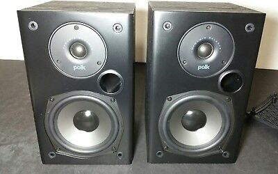 PAIR Of POLK AUDIO T15 Bookshelf Speakers