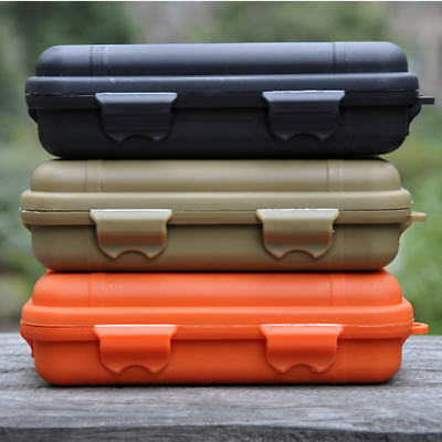EDC Outdoor Survival Case Waterproof Sealed Box Survival Travel Camping Tools