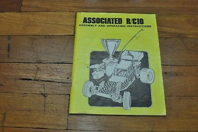 Associated R/C10 Assembly  instructions 1984