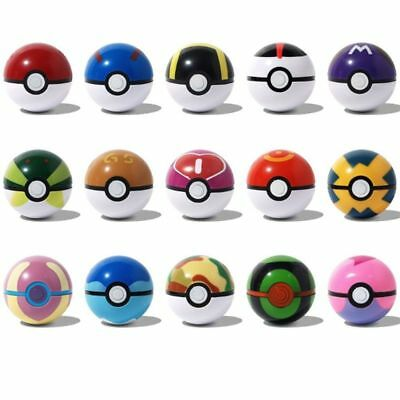 Pokemon Anime Figuren 15 Stücke Bounce Pokeball Pop-up Elf Go GS poke BALL Serie