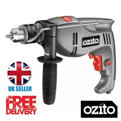 Ozito 710w Hammer Drill HDR-710U Variable Speed 13mm Metal Chuck DIY Power Tool