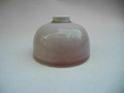 Chinese Cowpea Red Glaze Porcelain Vase Mark-Kangxi