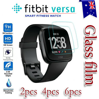 1x/2x/3x/4x Fitbit Versa Lite Screen Protector 9H Tempered Full Coverage Glass