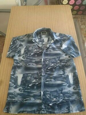 Mens vintage 80's - 90's shirt funky print size S