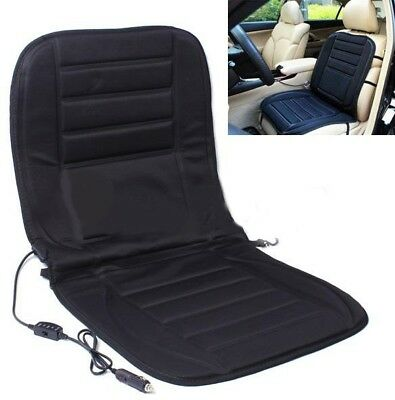 Car Van Auto Heated Padded Pad Hot Seat Cushion Cover Warmer 12V