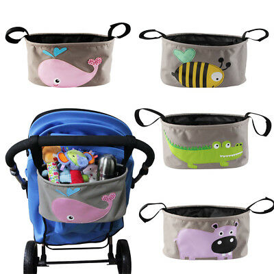 NEW Stroller Organiser Baby Storage Bag for Stroller, Buggy, Pushchair, Moggy