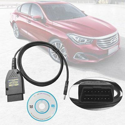VAGCOM 17.1.3 HEX+CAN USB Interface Car Fault Diagnosis Wire (German/English)SU