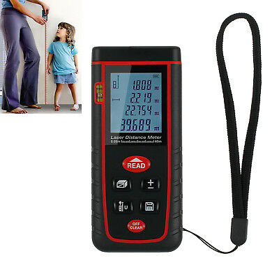 Mini Digital Laser Distance Meter LCD Range Diastimeter Finder Measure