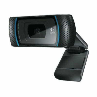 Logitech B910 HD - Webcam USB Black USB - 960-000684 - NIP
