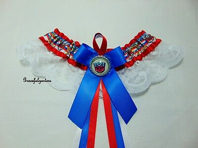 Plus Size Transformers Bridal Wedding Garter. Robots in disguise