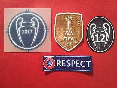 Patch Football Real Madrid Champions League 2017 - 2018 ✯✯✯✯