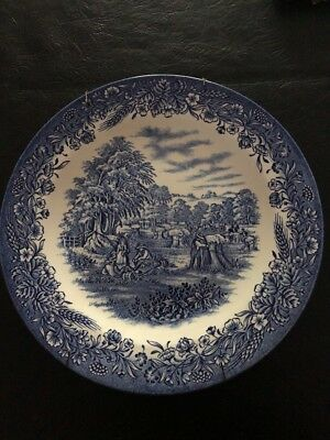 "Churchill Currier & Ives, Harvest Heritage 10 1/4"" dinner plate"