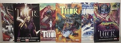 *NEW&SEALED Thor & Mighty Thor Jason Aaron Full run Complete 6 x HC: Vol.1-2&1-4