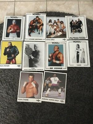 WWE/WCW Promo Photo Reprint / Original 10 Fotos