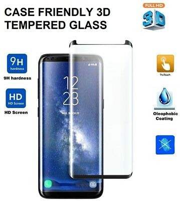 For Samsung Galaxy S8 Plus - 100% Genuine Tempered Glass LCD Screen Protector