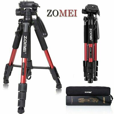 Professional ZOMEI Aluminium Portable Travel Camera Tripod For Camcorder
