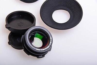 1.08-1.60x Zoom Viewfinder Eyepiece Magnifier for Canon Nikon Pentax Sony Camera