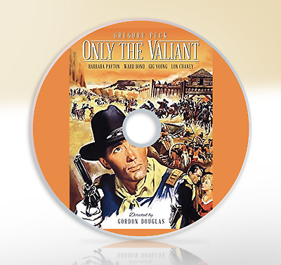 Only The Valiant (1951) DVD Western Movie / Film Gregory Peck
