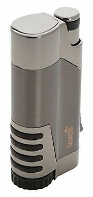 NEW! Scorch Torch Variant Single Jet Flame Butane Torch Cigar Lighter w/ Punch