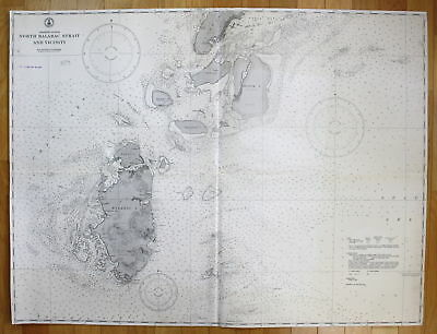1940 Philippine Islands - North Balabc Strait and Vicinity Asia Philippinen map