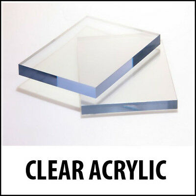 Clear Acrylic Perspex Sheet Custom Cut To Size Panels Plastic Panel Arts & Craft