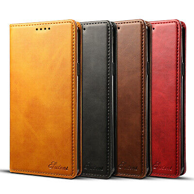 For Samsung Galaxy Note 9/S9+ Retro Leather Flip Wallet Stand Phone Case Cover